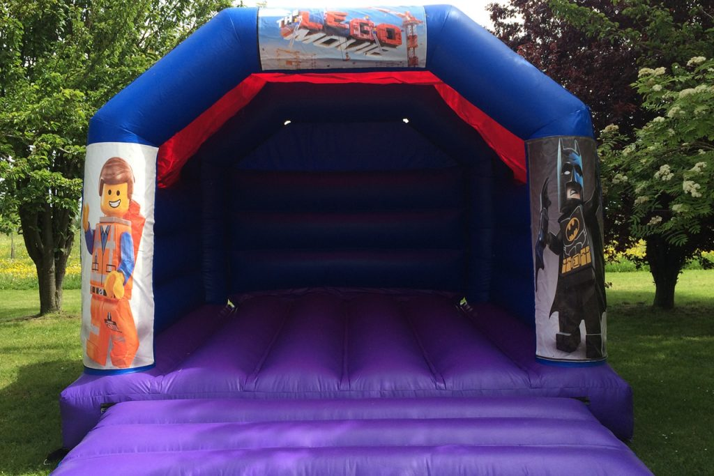 Lego Movie Bouncy Castle