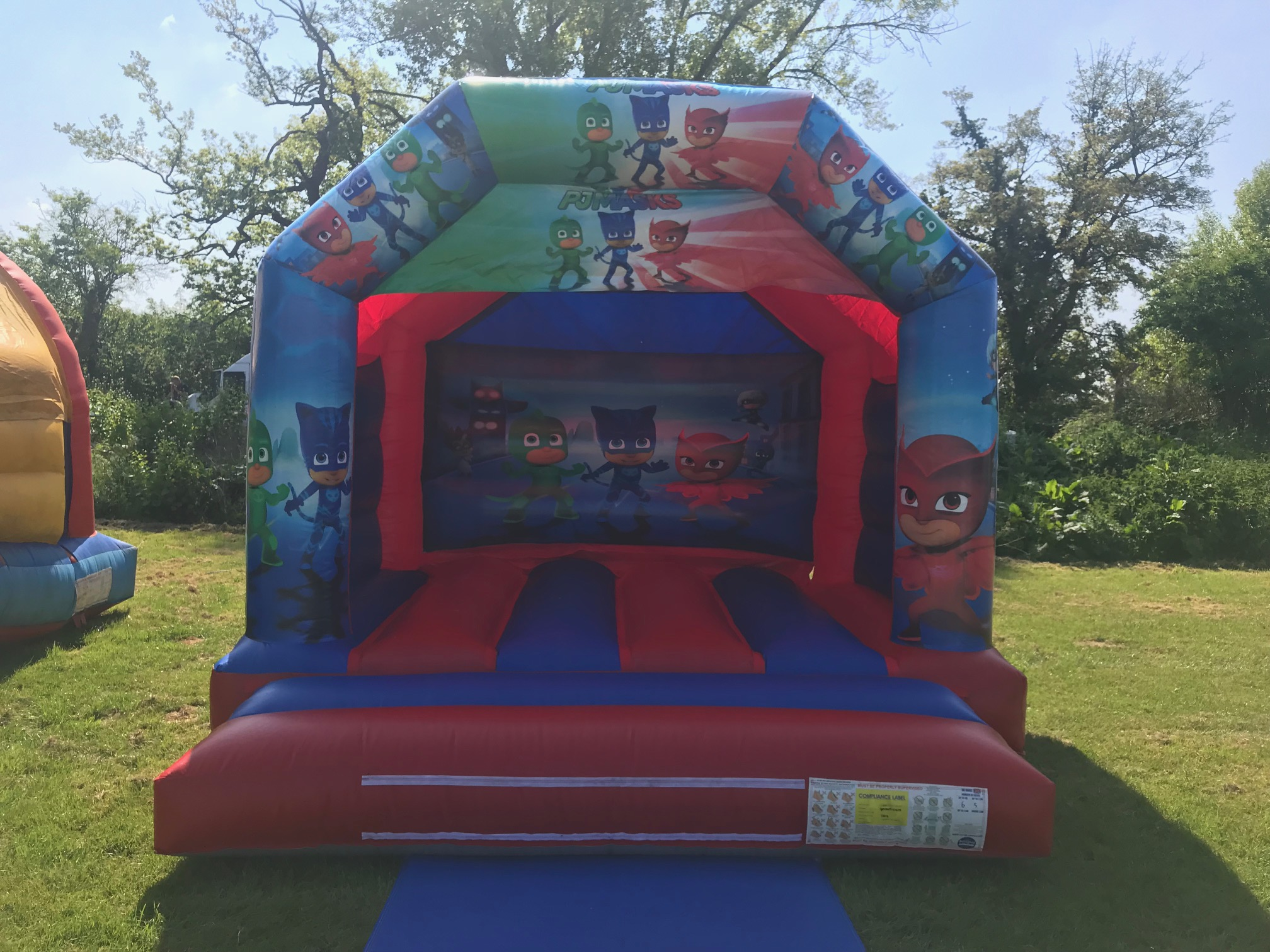 P J Mask Bouncy Castle