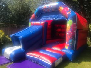 Front Slide Bouncy Castle and Slide Combination